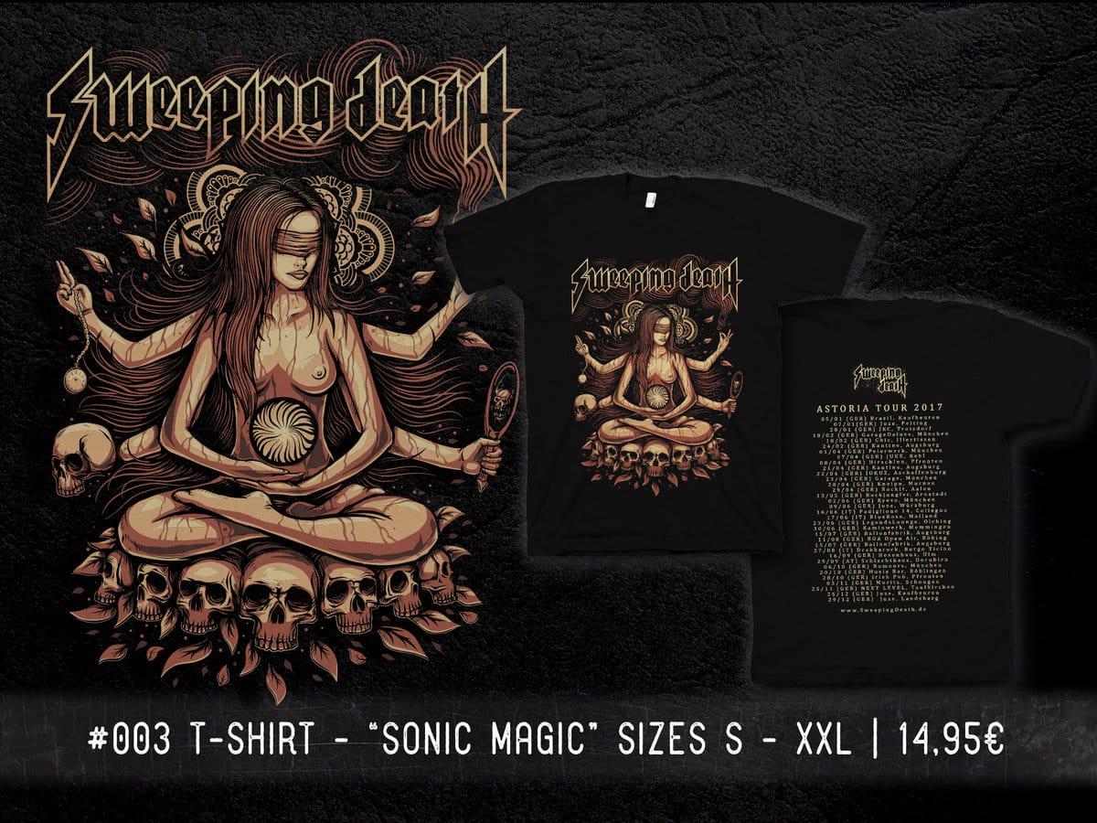 Sweeping Death - Sonic Magic - Merchandise