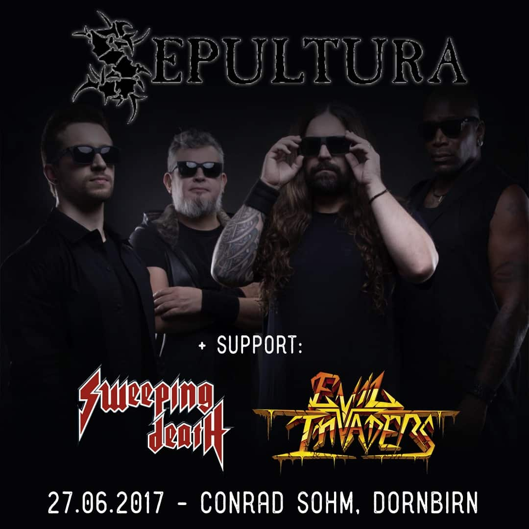 Sweeping Death - Sepultura - Evil Invaders - Dornbirn - 2017