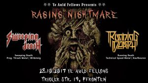 Flyer Raging Nightmare Pfronten Running Death Sweeping Death Ye Auld Fellows