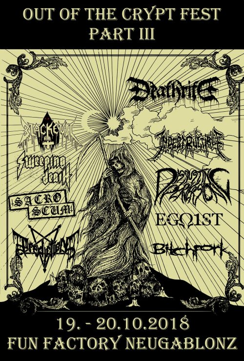 SweepingDeath_Out Of The Crypt Fest 2018_Live_Poster