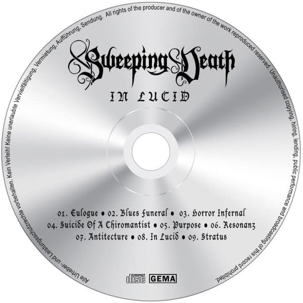 Sweeping Death - In Lucid (CD-Label)